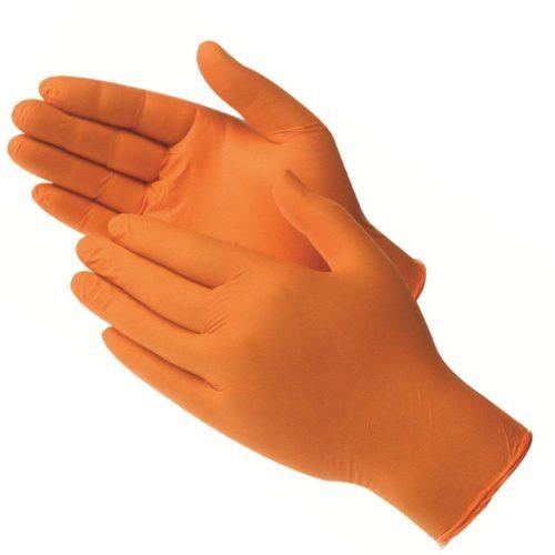 Rękawice nitrylowe projekt aed