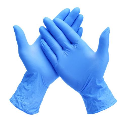 rękawice nitrylowe proejkt aed